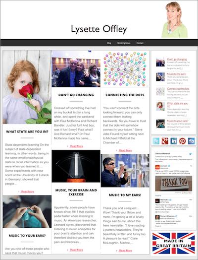 Lysette Offley's Blog